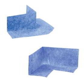 Narożniki uszczelniające do hydroizolacji – akcesoria do zabudowy płyty prysznicowej