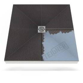 Płyta prysznicowa (brodzik podpłytkowy) do zabudowy Mineral PLUS z dodatkową powłoką