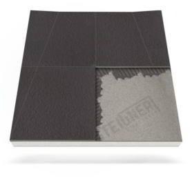 Płyta prysznicowa (brodzik podpłytkowy) do zabudowy do odpływu ściennego Mineral BASIC