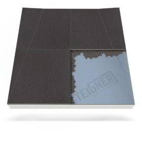 Płyta prysznicowa (brodzik podpłytkowy) do zabudowy do odpływu ściennego Mineral PLUS