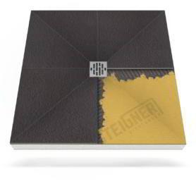 Płyta prysznicowa (brodzik podpłytkowy) do zabudowy Mineral PROFI