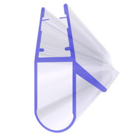 Uszczelka do kabiny prysznicowej UK17 do szyby o grubości 6–8 mm