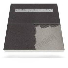 Płyta prysznicowa (brodzik podpłytkowy) Mineral BASIC z odpływem liniowym
