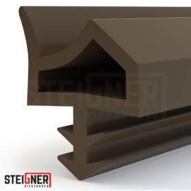 Uszczelka okienna i drzwiowa STD06 brązowa