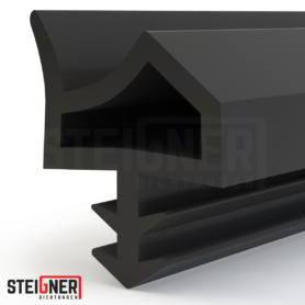 Uszczelka okienna i drzwiowa STD06 czarna