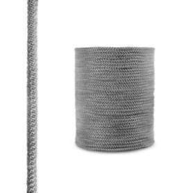 Sznur kominkowy z włókna szklanego SKD02 ciemnoszary 10 mm