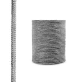 Sznur kominkowy z włókna szklanego SKD02 ciemnoszary 12 mm