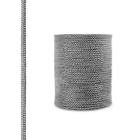 Sznur kominkowy z włókna szklanego SKD02 ciemnoszary 6 mm